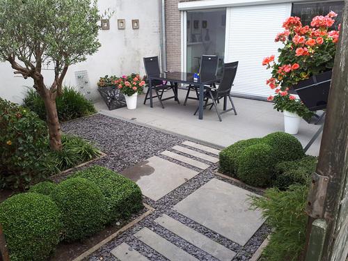 TuinOntwerpBureau De Keyser - Realisaties - Binnentuin appartement - Maldegem