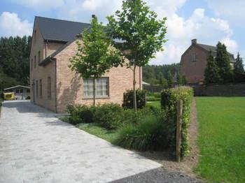TuinOntwerpBureau De Keyser - Realisaties - Klassieke tuin bij statige villa - Boekhoute