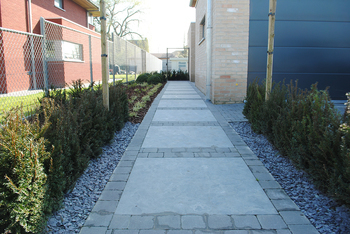 TuinOntwerpBureau De Keyser - Realisaties -Moderne tuin - Hertsberge