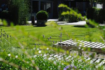 TuinOntwerpBureau De Keyser - Realisaties -Parking bij dokterspraktijk - Adegem